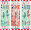 Baseball Collectibles:Tickets, 1969 World Series Game One Full Ticket New York Mets vs. BaltimoreOrioles Lot of 3. ...
