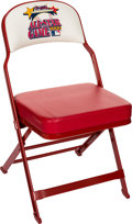 Baseball Collectibles:Others, 2002 Major League Baseball All-Star Game Chair. ...