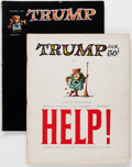Magazines:Humor, Trump #1 and 2 Complete Series Group (HMH Publishing, 1957)Condition: Average VG.... (Total: 2 Comic Books)