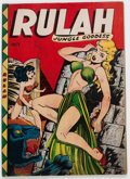 Golden Age (1938-1955):Adventure, Rulah Jungle Goddess #19 (Fox Features Syndicate, 1948) Condition: VG....