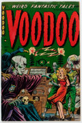 Golden Age (1938-1955):Horror, Voodoo #3 (Farrell, 1952) Condition: Apparent VG+....