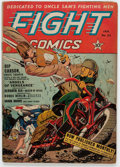 Golden Age (1938-1955):War, Fight Comics #23 (Fiction House, 1943) Condition: VG....