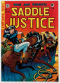 Golden Age (1938-1955):Western, Saddle Justice #6 (EC, 1949) Condition: VF....