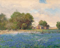 Texas:Early Texas Art - Regionalists, Robert William Wood (American, 1889-1979). Lupin. Oil oncanvas. 16 x 20 inches (40.6 x 50.8 cm). Signed lower right:...
