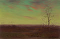 Texas:Early Texas Art - Impressionists, Julian Onderdonk (American, 1882-1922). Winter TwilightSouthwest Texas. Oil on panel. 6 x 9 inches (15.2 x 22.9 cm).Si...