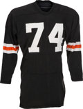 Football Collectibles:Uniforms, Early 1970s Mike Reid Game Worn Cincinnati Bengals Jersey....