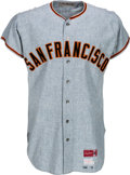 Baseball Collectibles:Uniforms, 1971 Willie McCovey Game Worn San Francisco Giants Jersey, MEARS A9....