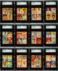 Baseball Cards:Sets, 1935 R321 Goudey Baseball Partial Set (24/36) With Ruth. ...