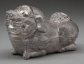 Silver Holloware, Continental:Holloware, A Cambodian Silver Figural Betel Box, pre-1970. Marks: (effacedmark to underside). 7 inches high x 10-1/4 inches wide (17.8...