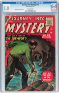 Golden Age (1938-1955):Horror, Journey Into Mystery #28 (Marvel, 1955) CGC VG/FN 5.0 Off-whitepages....