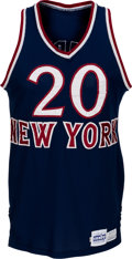 Basketball Collectibles:Uniforms, 1979-82 Michael Ray Richardson Game Worn New York Knicks Jersey& Shorts with Photo Match. ...