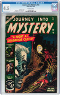 Golden Age (1938-1955):Horror, Journey Into Mystery #12 (Marvel, 1953) CGC VG+ 4.5 Off-whitepages....