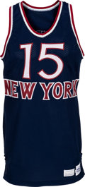 Basketball Collectibles:Uniforms, 1979-80 Earl Monroe Game Worn New York Knicks Jersey ...