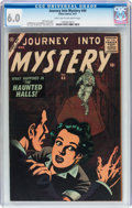 Silver Age (1956-1969):Horror, Journey Into Mystery #44 (Marvel, 1957) CGC FN 6.0 Light tan tooff-white pages....
