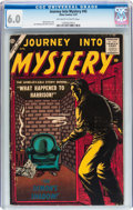 Silver Age (1956-1969):Horror, Journey Into Mystery #45 (Marvel, 1957) CGC FN 6.0 Off-white towhite pages....