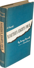 Books:Literature 1900-up, George Orwell. Nineteen Eighty-Four. New York: Harcourt,Brace and Company, 1949. Stated First American edition. Oct...