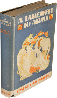 Ernest Hemingway. A Farewell to Arms. New York: Charles Scribner's Sons, 1929. First trade edit
