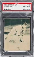 Baseball Cards:Singles (1930-1939), 1934-36 R318 Batter-Up Ted Lyons #119 PSA NM-MT 8 - None Higher. ...