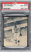 Baseball Cards:Singles (1930-1939), 1934-36 R318 Batter-Up Lon Warneke #186 PSA NM-MT 8 - Pop Two, NoneHigher....