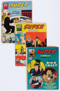 Golden Age (1938-1955):Miscellaneous, United Features Golden and Silver Age Comics Group of 46 (United Features Syndicate, 1937-57) Condition: Average GD.... (Total: 46 Comic Books)