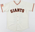 Baseball Collectibles:Uniforms, Juan Marichal Signed New York Giants Jersey....