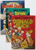 Golden Age (1938-1955):Cartoon Character, Four Color Disney Duck Related Group of 5 (Dell, 1947-50)....(Total: 5 Comic Books)