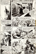 Original Comic Art:Panel Pages, Bernie Wrightson Swamp Thing #3 Page 2 Original Art (DC, 1973)....