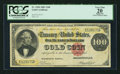 Large Size:Gold Certificates, Fr. 1208 $100 1882 Gold Certificate PCGS Apparent Very Fine 20.. ...