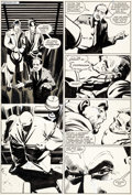 Original Comic Art:Panel Pages, Frank Miller and Klaus Janson Daredevil #188 Page 14Original Art (Marvel, 1982)....