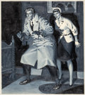 Original Comic Art:Covers, Johnny Craig Extra! #2 Cover Painting Original Art (EC,1955)....