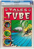Bronze Age (1970-1979):Alternative/Underground, Tales from the Tube #1 (Surfer Publications, 1972) CGC NM- 9.2 Cream to off-white pages....
