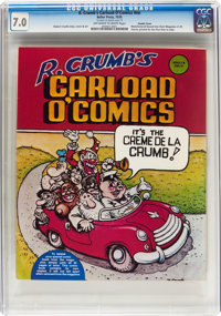 R. Crumb's Carload O' Comics #nn Double Cover (Belier Press, 1976) CGC FN/VF 7.0 Off-white to white pages