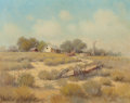 Paintings, G. (Gerald Harvey Jones) Harvey (American, b. 1933). Texas Landscape. Oil on canvas. 24 x 30 inches (61.0 x 76.2 cm). Si...