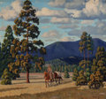 Texas:Early Texas Art - Impressionists, Fred Darge (American, 1900-1978). In the Pine Country. Oilon canvasboard. 11 x 12 inches (27.9 x 30.5 cm). Signed lower...