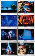 """Movie Posters:Science Fiction, Tron (Buena Vista, 1982). Lobby Card Set of 8 (11"""" X 14""""). ScienceFiction.. ... (Total: 8 Items)"""