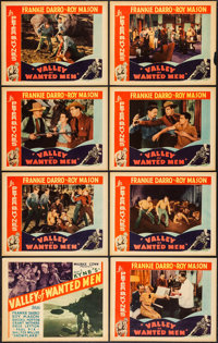 """Valley of Wanted Men (Ambassador Pictures, 1935). Lobby Card Set of 8 (11"""" X 14""""). Western. ... (Total: 8 Item..."""