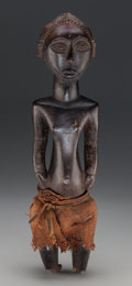 Tribal Art, Hemba Male Figure, Democratic Republic of the Congo . Probablyearly 20th century...