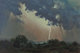 Wilson Hurley (American, 1924-2008) Lightning Storm, 1966 Oil on masonite 24 x 36 inches (61.0 x 91.4 cm) Signed and