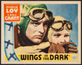 "Movie Posters:Adventure, Wings in the Dark (Paramount, 1935). Lobby Card (11"" X 14"").Adventure.. ..."