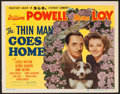 "Movie Posters:Mystery, The Thin Man Goes Home (MGM, 1945). Title Lobby Card (11"" X 14"").Mystery.. ..."