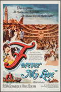 """Movie Posters:Foreign, Forever My Love (Paramount, 1962). One Sheet (27"""" X 41""""), and Photos (3) (8"""" X 10.25""""). Foreign.. ... (Total: 4 Items)"""
