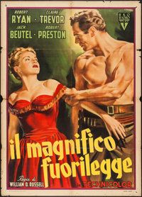 "Best of the Badmen (RKO, 1951). Italian 2 - Foglio (39.5"" X 55""). Western"