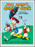 """Movie Posters:Animation, Donald's Golf Game (Circle Fine Art, R-1980s). Fine Art Serigraphs(5) (22.5"""" X 30.5""""). Animation.. ... (Total: 5 Items)"""