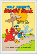 """Movie Posters:Animation, Donald's Better Self (Circle Fine Art, R-1980s). Fine Art Serigraphs (5) (21"""" X 30.75""""). Animation.. ... (Total: 5 Items)"""