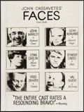"Movie Posters:Drama, Faces (Continental, 1968). Poster (30"" X 40"") and Press Ads (2) (19"" X 25""). Drama.. ... (Total: 3 Items)"