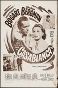 "Movie Posters:Academy Award Winners, Casablanca (Dominant Pictures, R-1956). One Sheet (27"" X 41"").Academy Award Winners.. ..."
