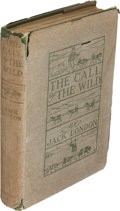 Books:Literature 1900-up, Jack London: The Call of the Wild. Illustrated by Philip R.Goodwin and Charles Livingston Bull. New York: The Macmi...