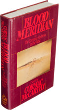 Books:Literature 1900-up, Cormac McCarthy. Blood Meridian or the Evening Redness in theWest. New York: Random House, [1985]. First edition. ...
