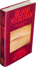 Books:Literature 1900-up, Cormac McCarthy. Blood Meridian or the Evening Redness in the West. New York: Random House, [1985]. First edition. ...