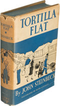 Books:Literature 1900-up, John Steinbeck. [Ruth Gannett, illustrator]. Tortilla Flat.New York: Covici-Friede, [1935]....
